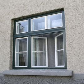 Kranz Rahmenpfostenfenster, geöffnet