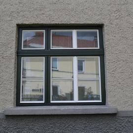 Kranz Rahmenpfostenfenster, geschlossen