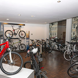 e-motion e-Bike Shop Hannover innen
