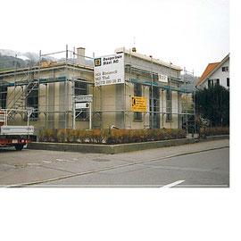 Umbau der neuen Gemeinderäumlichkeiten