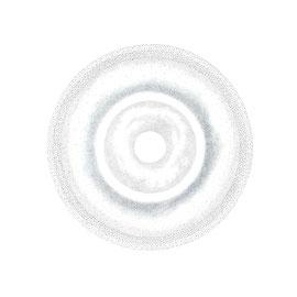 pulsation 6 - farbstift auf papier - 92 x 92 cm - 2017