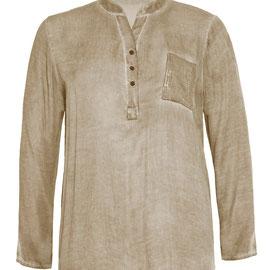 schlamm Bluse , Mode strake Frauen , Bluse in Größe 48 , Größe 50 , Größe 52 , Tye and Dye Stoff