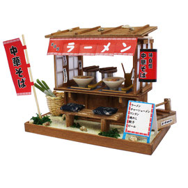 "* Miniature house kit ""Ramen stand"""