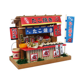 "* Miniature house kit ""Takoyaki stand"""