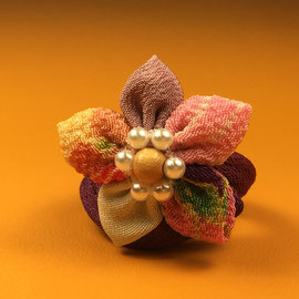 * Chirimen Zaiku craft Rings