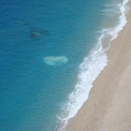 Ein Strand fast für sich selbst zu haben - Platia Ammos