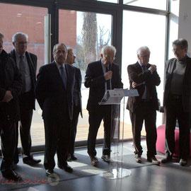 Discours inaugural du Pôle culturel et social La Source, Sallebœuf, par Marc Avinen