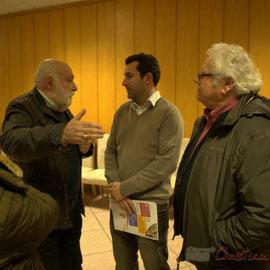 à droite Christian Bouzat, Président de Réalisation Environnement Valorisation (R.E.V.)