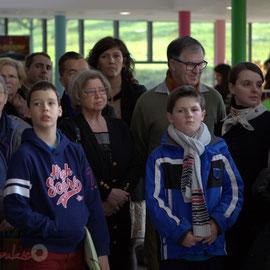 La jeunesse est mise à l'honneur, entre autre. Anne-Laure Fabre-Nadler et Françoise Cartron sont aussi présentes.