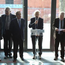 Discours de Marc Avinen, Maire de Sallebœuf, en présence de Philippe Madrelle, Président du C.G. de la Gironde, Pôle culturel et social La Source