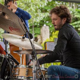 Matthieu Chazarenc, Eric Séva Quartet, Festival JAZZ360 2016, Camblanes-et-Meynac, 11/06/2016