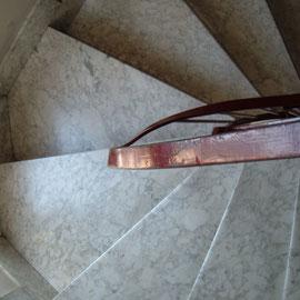 E' evidente che questi tipi di scale non hanno una misura fissa di passo .