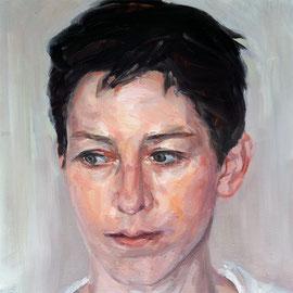 "Olga_Wiedenhöft ""Katharina Neuweg ""   40 cm x 40 cm, Ölfarbe auf Leinwand, 2016,    Abc-Westside-Galerie"