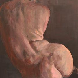 "Olga_Wiedenhöft ""o.T.""   173 cm x 194 cm, Ölfarbe auf Leinwand, 2016   Abc-Westside-Galerie"