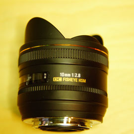 Sigma 10mm Fisheye 2,8