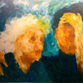 Acryl auf Sperrholzplatte, 1992, 103 x 73 cm, 528,00 €