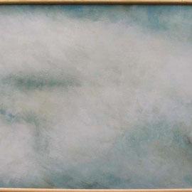 """""""Vogel"""" Acryl auf Sperrholzplatte, 1996, 187 x 100 cm, verkauft"""