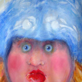 2014, Acryl auf Karton, aufgezogen auf Polystrolschaumplatte, 70 x 100 cm, 510,00 €