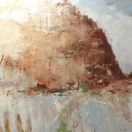 Kreide | 2012 | Acryl auf Leinwand | 130 x 100 cm