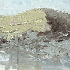 Tonske - Düne 1 | Acryl auf Leinwand | 60 x 30 cm