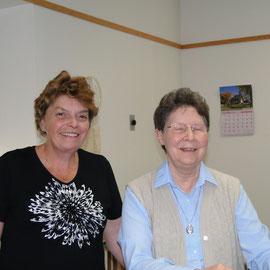 Nicole Breton et Soeur Hélène Lessard