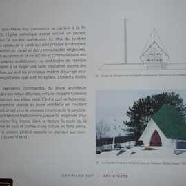 Le charnier du cimetière de la rue Principale dessiné par M. Jean-Marie Roy