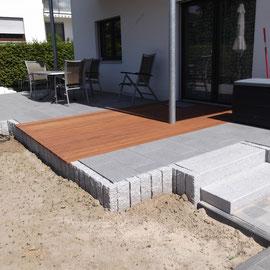 Korfmacher Gärten Terrassenbau Gartenneubau fertig