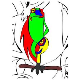 Motiv: Der Frosch