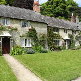 und schönen ländlichen Häuschen