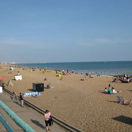 Strandabschnitt in Brighton