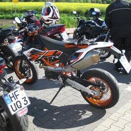 Karstens Motorrad für einen Tag