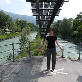 B auf B - Birgit auf der Brücke