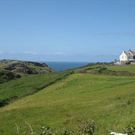 Eine Landschaft in Cornwall