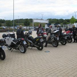 Viele kamen aus Süddeutschland, ein paar aus der Schweiz, aus Belgien und Holland