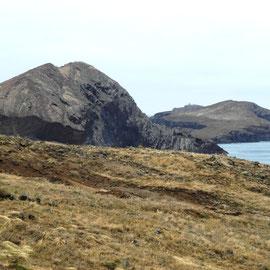 Echt tolle Felslandschaft am östlichen Ende der Insel