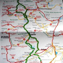 Hier einmal die Tour in Map-Form