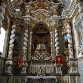 Diese Kirche muss den Vergleich zu den Gotteshäusern in Funchal nicht scheuen