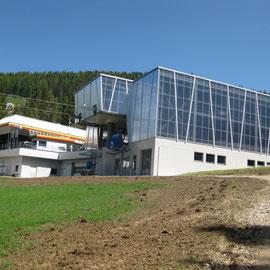 Skistation - Mittelstation (noch nicht der KronplatzI