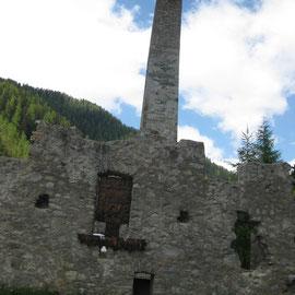 Die ehemalige Schmelzhütte
