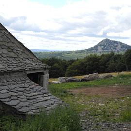 Da ist der Mont Gerbier des Jonc