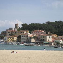 Am letzten Tag machen wir einen Abstecher zur Insel Elba