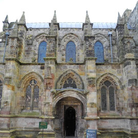 Die Rosslyn Chapel in Roslin