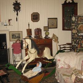 Eines der liebevoll restaurierten Kinderzimmer