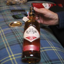 Abends vor dem Einschlafen: a little Whisky...