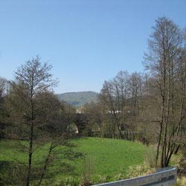 Birgit macht unterdessen ein Landschaftsbild