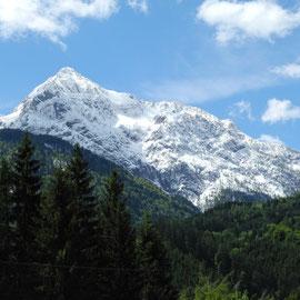 Schön aussehen tun sie ja - die gezuckerten Berge