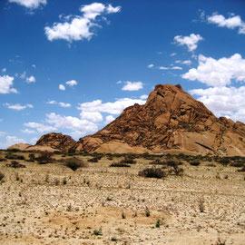 Einmalig schöne Landschaft und die Felsen sehen so glatt aus