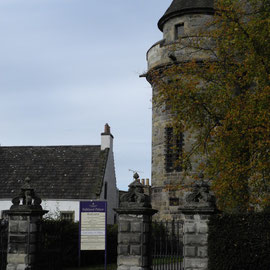 Der Eingang des Falkland Palace