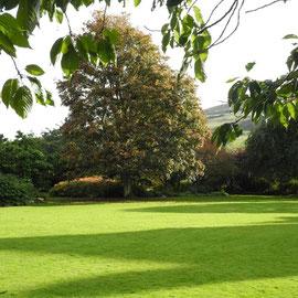 Der Garten des Schlosses