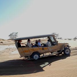 Der absolute Wüstenrenner - hat richtig Spaß gemacht, die Fahrt